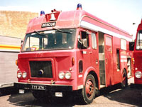 Clerkenwell Fire Engine in its heyday before needing restoration