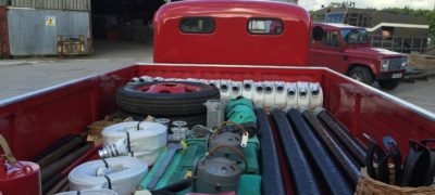 Restoration Complete: Ford ET6 Fire Lorry